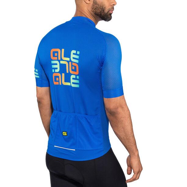 Alé Cycling Solid Mirror SS Jersey Herren blue