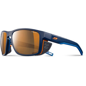 Julbo Shield Cameleon Sunglasses blue/blue/orange-brown blue/blue/orange-brown