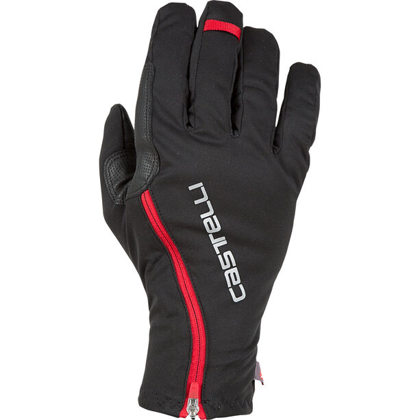 Castelli Spettacolo Ros Gloves black/red