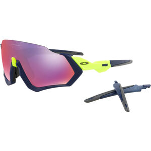 Oakley Flight Jacket Sunglasses matte navy/prizm road matte navy/prizm road
