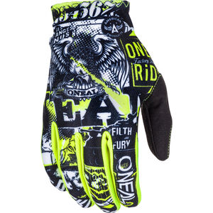ONeal Matrix Gloves ATTACK black/hi-viz