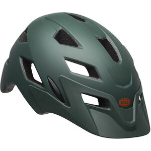 Bell Sidetrack Helmet Kinder matte dark green/orange matte dark green/orange
