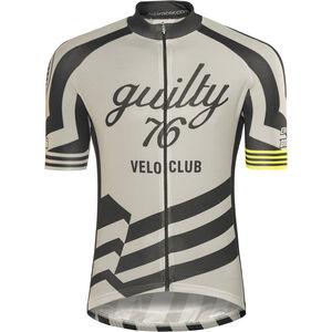 guilty 76 racing Velo Club Pro Race Jersey Herren grey grey