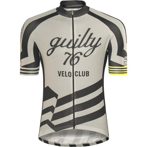 guilty 76 racing Velo Club Pro Race Jersey Herren grey