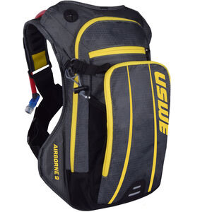 USWE Airborne 9 Rucksack grey/yellow grey/yellow