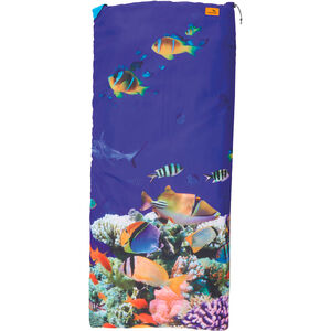 Easy Camp Image Kids Aquarium Sleeping Bag blau/gelb