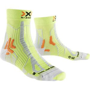 X-Socks Trail Run Energy Socks Men Green Lime/Pearl grey