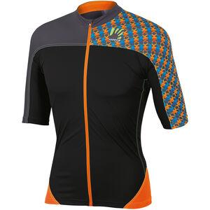 Karpos Teck Evo Jersey Herren orange fluo/black orange fluo/black