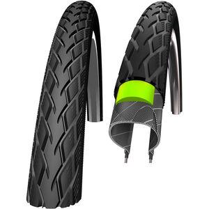 """SCHWALBE Marathon Drahtreifen GreenGuard E-25 SpeedGrip Reflex 28x0.90"""" schwarz bei fahrrad.de Online"""
