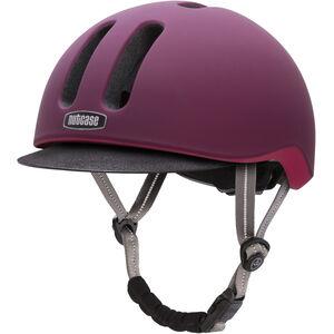 Nutcase Metroride Helmet garnet matte garnet matte