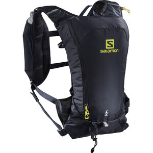 Salomon Agile 6 Backpack Set Night Sky/Sulphur Spring bei fahrrad.de Online