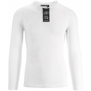 assos Skinfoil LS Summer Baselayer Unisex holy white