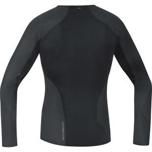 GORE WEAR Windstopper Baselayer Thermo Longsleeve Shirt Herren black black