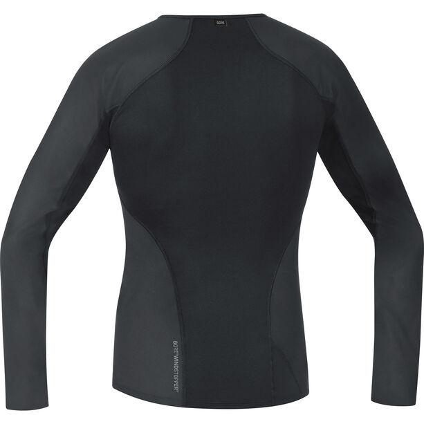 GORE WEAR Windstopper Baselayer Thermo Longsleeve Shirt Herren black