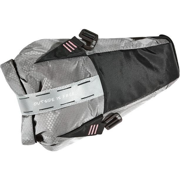 WOHO X-Touring Saddle Dry Bag S honeycomb iron grey