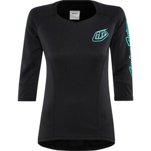 Troy Lee Designs Ruckus 3/4 Jersey Damen black black
