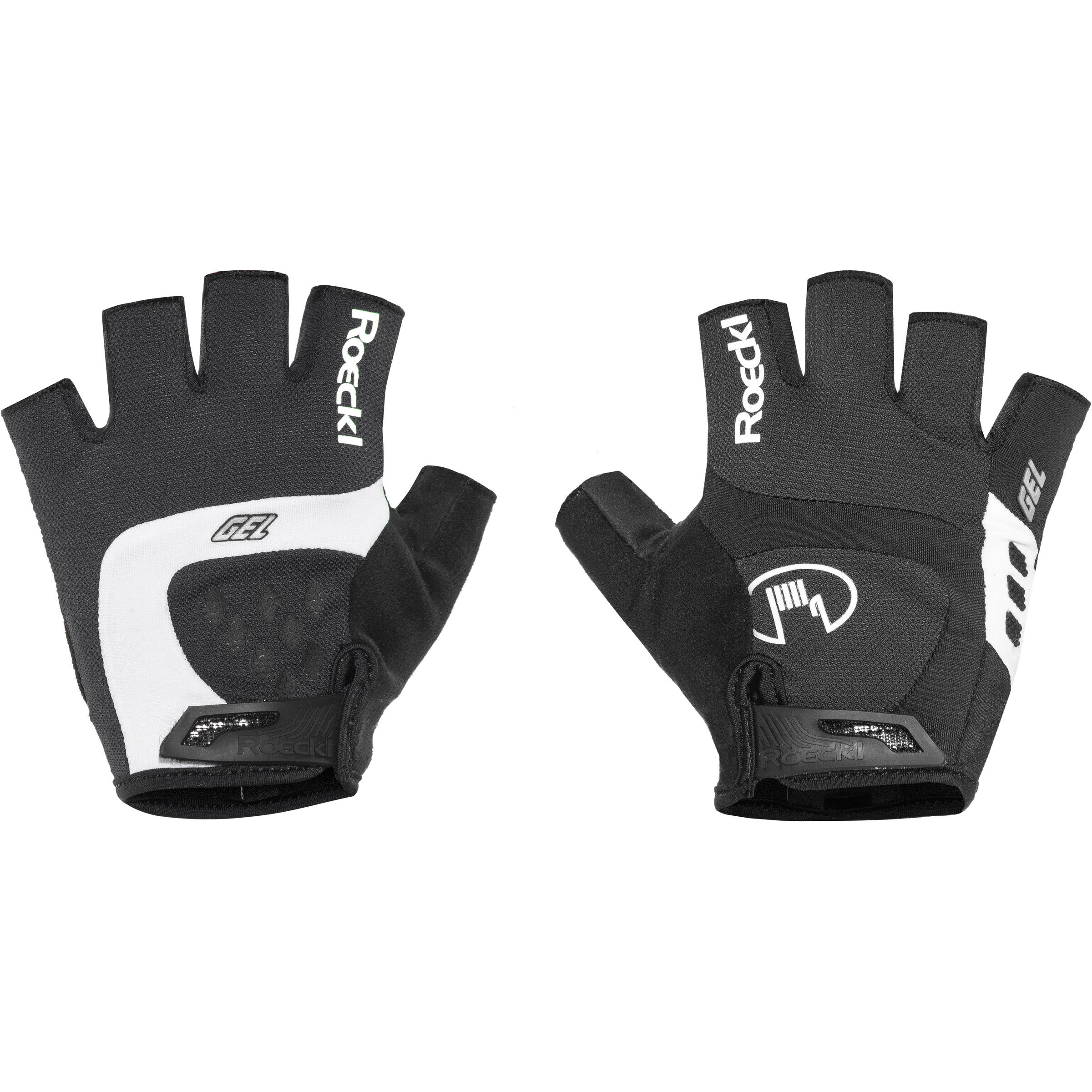 Roeckl Ivory Handschuhe weißschwarz 6 2019 Mtb Handschuhe