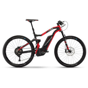 HAIBIKE XDURO FullSeven Carbon 9.0 Carbon/Rot/Silber matt carbon/rot/silber matt