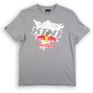 Kini Red Bull Interlaced Tee Herren grey grey