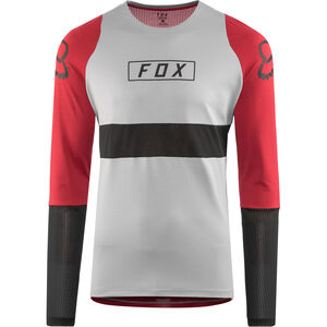 Fox Defend Fox LS Jersey Herren steel gray steel gray