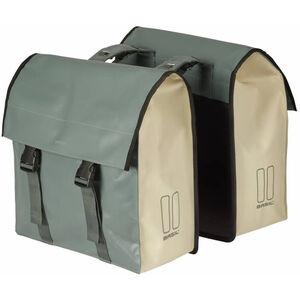 Basil Urban Load Doppel-Gepäckträgertasche 48-53l chinois grun/weiß chinois grun/weiß
