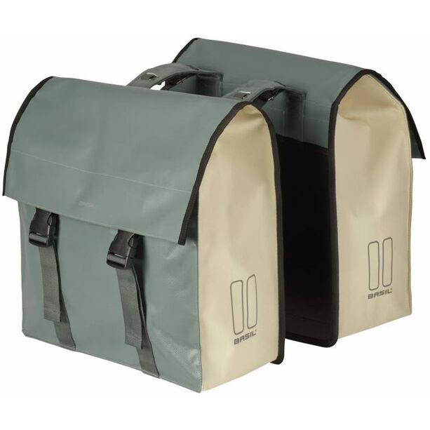 Basil Urban Load Doppel-Gepäckträgertasche 48-53l chinois grun/weiß