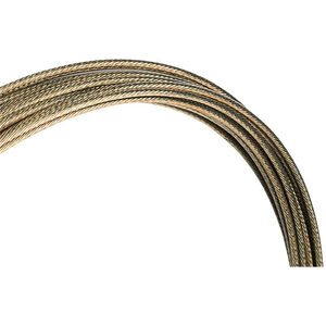 Jagwire Pro-Slick Schaltzug 2300mm für Campagnolo poliert bronze bronze