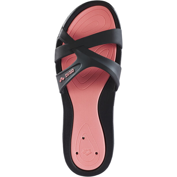 arena Athena Hook Sandals Damen black/petunia/black