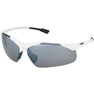 UVEX Sportstyle 223 Sportbrille white/silver white/silver
