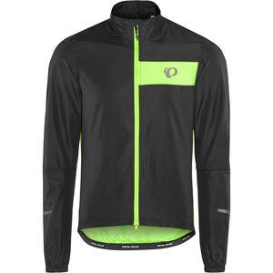 PEARL iZUMi Select Barrier Jacket black/screaming green