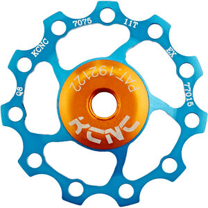 KCNC Jockey Wheel 11 Zähne SS Bearing blau