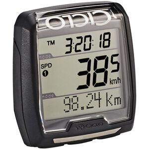 Ciclosport CM 4.41 Fahrradcomputer mit Höhenmessung schwarz