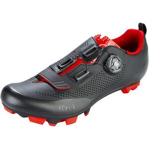 Fizik Terra X5 MTB Schuhe Herren schwarz/rot schwarz/rot