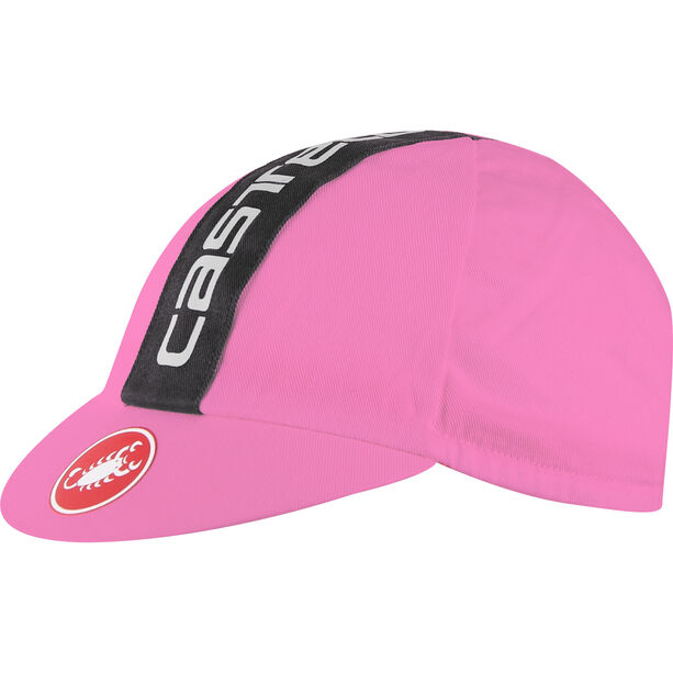 Castelli Retro 3 Cap giro pink/black