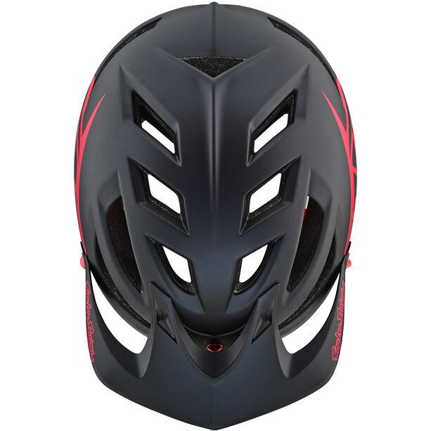 Troy Lee Designs A1 Drone Helmet black/red black/red