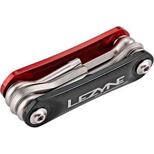 Lezyne RAP-6 Multifunktionswerkzeug rot/schwarz rot/schwarz