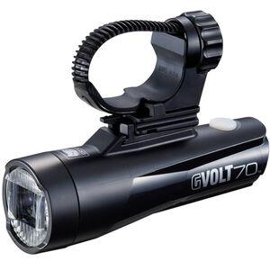CatEye GVolt 70 HL-EL551GRC Frontlicht schwarz schwarz