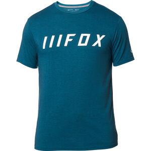 Fox Down Shift Kurzarm Tech T-Shirt Herren heather blue heather blue