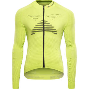 X-Bionic Effektor Power Fahrrad Trikot LS Full-Zip Herren green lime/black green lime/black
