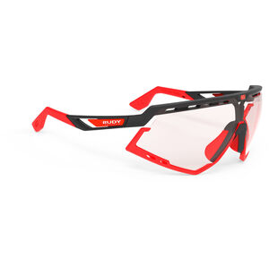 Rudy Project Defender Glasses black matte/red fluo - impactx photochromic 2 red black matte/red fluo - impactx photochromic 2 red