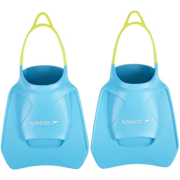 speedo Biofuse Fitness Fins turquoise/lime/ultramarine