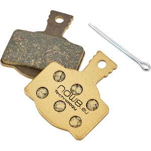 NOW8 E-Bike Gold Disc Brake Pads CC3Xplus for Magura MT 2/4/6/8 gold gold