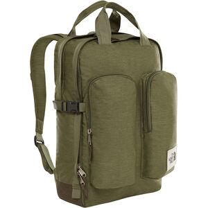 The North Face Mini Crevasse Backpack four leaf clover dark heather/new taupe green dark heath four leaf clover dark heather/new taupe green dark heath