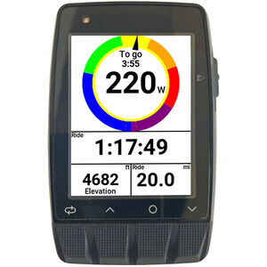 Stages Cycling Dash M50 GPS Fahrradcomputer black black