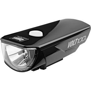 CatEye Volt100 HL-EL150 RC Helmlampe schwarz schwarz