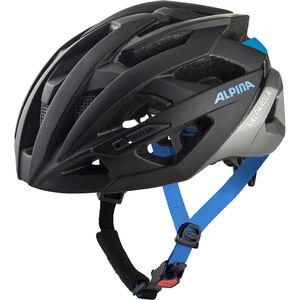 Alpina Valparola Helmet black-silver-blue black-silver-blue