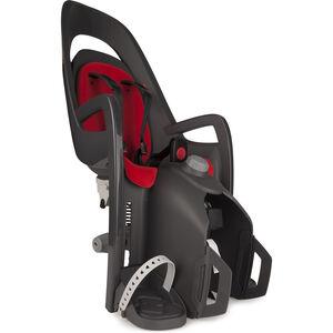 Hamax Caress Kindersitz Gepäckträger Kinder grau/rot grau/rot