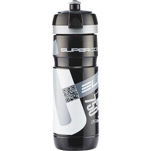 Elite Super Corsa Trinkflasche  750ml schwarz/silber