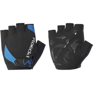 Roeckl Baku Handschuhe schwarz/blau schwarz/blau