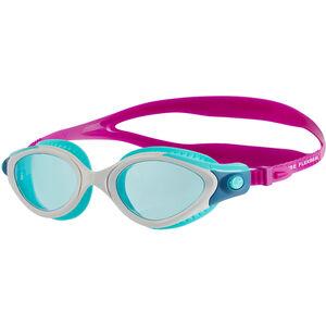 speedo Futura Biofuse Flexiseal Goggles Damen diva/white/peppermint diva/white/peppermint